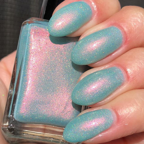 A Mermaid Tale by Shleee Polish AVAILABLE AT GIRLY BITS COSMETICS www.girlybitscosmetics.com | Photo credit: IG@shleeepolish