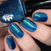 Midnight Mermaid from the January 2019 Collection by Emily de Molly AVAILABLE AT GIRLY BITS COSMETICS www.girlybitscosmetics.com | Photo credit: Nail Polish Society