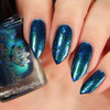 Midnight Mermaid from the January 2019 Collection by Emily de Molly AVAILABLE AT GIRLY BITS COSMETICS www.girlybitscosmetics.com | Photo credit: Rachelaughs Nails