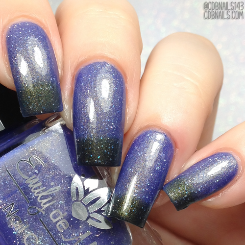 More or Less from the July 2018 Collection by Emily de Molly AVAILABLE AT GIRLY BITS COSMETICS www.girlybitscosmetics.com | Photo credit: CDB Nails