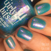 Not Waterlilies (PPU April 2019 - Works of Art Theme) inspired by Sunol Alvar lithograph AVAILABLE AT POLISH PICKUP www.polishpickup.com | Photo credit: The Dot Couture