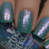 Not Waterlilies (PPU April 2019 - Works of Art Theme) inspired by Sunol Alvar lithograph AVAILABLE AT POLISH PICKUP www.polishpickup.com | Photo credit: Polished to the Nines