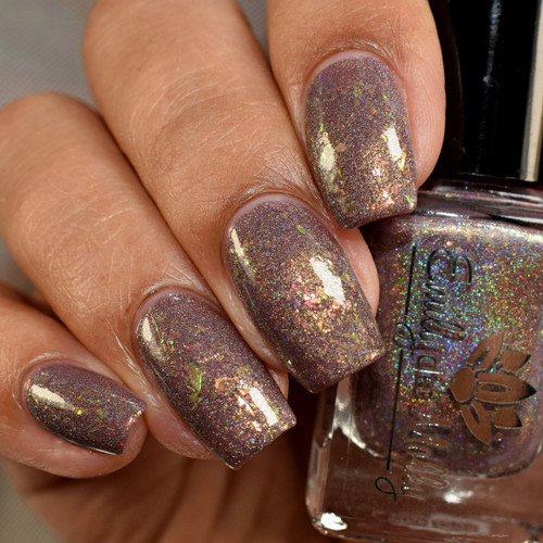 Old Friend Of Mine from the February 2019 Collection by Emily de Molly AVAILABLE AT GIRLY BITS COSMETICS www.girlybitscosmetics.com | Photo credit: The Polished Mage