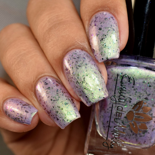 Sheer Thrills from the February 2019 Collection by Emily de Molly AVAILABLE AT GIRLY BITS COSMETICS www.girlybitscosmetics.com   Photo credit: The Polished Mage