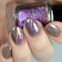 Phoenix Flight from the March 2019 Collection by Emily de Molly AVAILABLE AT GIRLY BITS COSMETICS www.girlybitscosmetics.com | Photo credit: Glitterfingersss
