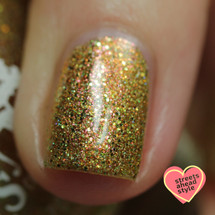 Sax Me Up {PC NOLA Limited Edition} by Girly Bits Cosmetics AVAILABLE AT POLISH CON NEW ORLEANS (later at www.girlybitscosmetics.com) | Photo credit: Streets Ahead Style