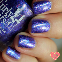 Flash Your Tips Too {PC NOLA Limited Edition} by Girly Bits Cosmetics AVAILABLE AT POLISH CON NEW ORLEANS (later at www.girlybitscosmetics.com) | Photo credit: Streets Ahead Style