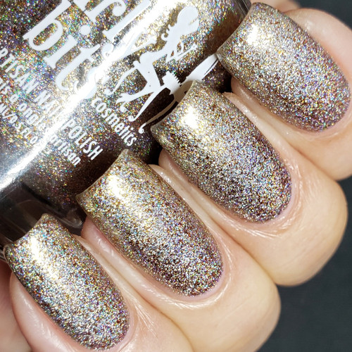April Fool's Gold (April 2019 CoTM) by Girly Bits Cosmetics AVAILABLE AT GIRLY BITS COSMETICS www.girlybitscosmetics.com | Photo credit: @lacquerloon