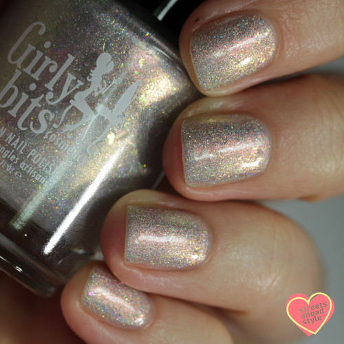 Lunar Ice from the Spring 2019 Collection by Girly Bits Cosmetics AVAILABLE AT GIRLY BITS COSMETICS www.girlybitscosmetics.com | Photo credit: Streets Ahead Style