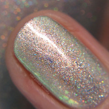 Lunar Ice from the Spring 2019 Collection by Girly Bits Cosmetics AVAILABLE AT GIRLY BITS COSMETICS www.girlybitscosmetics.com | Photo credit: Nail Polish Society