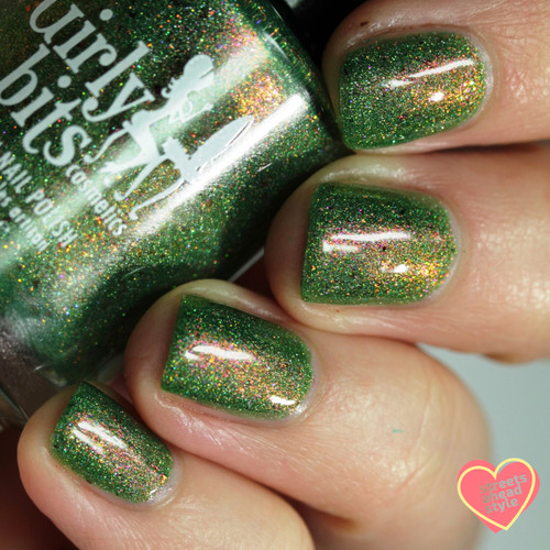 Absinthe Fairy from the Spring 2019 Collection by Girly Bits Cosmetics AVAILABLE AT GIRLY BITS COSMETICS www.girlybitscosmetics.com | Photo credit: Streets Ahead Style
