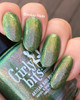 Absinthe Fairy from the Spring 2019 Collection by Girly Bits Cosmetics AVAILABLE AT GIRLY BITS COSMETICS www.girlybitscosmetics.com | Photo credit: EhmKay Nails