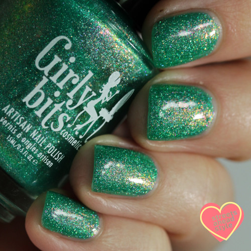 Lord of the Springs from the Spring 2019 Collection by Girly Bits Cosmetics AVAILABLE AT GIRLY BITS COSMETICS www.girlybitscosmetics.com | Photo credit: Streets Ahead Style
