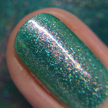 Lord of the Springs from the Spring 2019 Collection by Girly Bits Cosmetics AVAILABLE AT GIRLY BITS COSMETICS www.girlybitscosmetics.com | Photo credit: Nail Polish Society