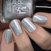 Holo From the Other Side from the Spring 2019 Collection by Girly Bits Cosmetics AVAILABLE AT GIRLY BITS COSMETICS www.girlybitscosmetics.com   Photo credit: Nail Polish Society