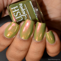 Vanora Horizon from the Sea Water Shimmers II Collection by BLUSH Lacquers AVAILABLE AT GIRLY BITS COSMETICS www.girlybitscosmetics.com | Photo credit: The Polished Mage