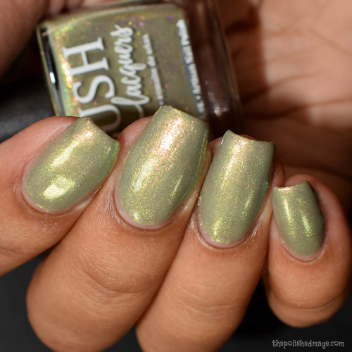 Theodora Delphine from the Sea Water Shimmers II Collection by BLUSH Lacquers AVAILABLE AT GIRLY BITS COSMETICS www.girlybitscosmetics.com | Photo credit: The Polished Mage