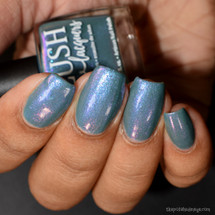 Ocean Moonbeam from the Sea Water Shimmers II Collection by BLUSH Lacquers AVAILABLE AT GIRLY BITS COSMETICS www.girlybitscosmetics.com | Photo credit: The Polished Mage