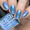 Ocean Moonbeam from the Sea Water Shimmers II Collection by BLUSH Lacquers AVAILABLE AT GIRLY BITS COSMETICS www.girlybitscosmetics.com | Photo credit: Nail Polish Society