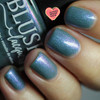 Ocean Moonbeam from the Sea Water Shimmers II Collection by BLUSH Lacquers AVAILABLE AT GIRLY BITS COSMETICS www.girlybitscosmetics.com | Photo credit: Streets Ahead Style