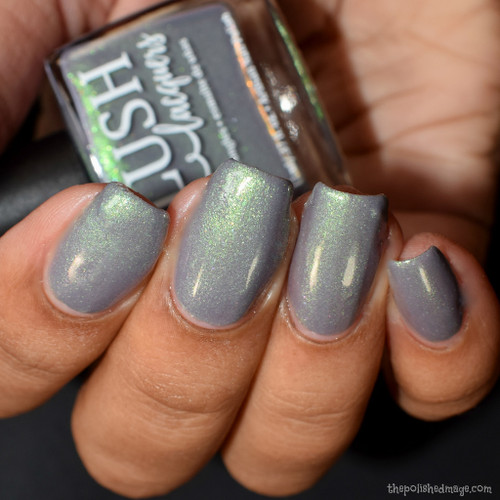 Gemma Atlas from the Sea Water Shimmers II Collection by BLUSH Lacquers AVAILABLE AT GIRLY BITS COSMETICS www.girlybitscosmetics.com   Photo credit: The Polished Mage