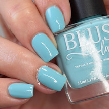 You & Me from the Candy Heart Cremes Collection by BLUSH Lacquers AVAILABLE AT GIRLY BITS COSMETICS www.girlybitscosmetics.com | Photo credit: Manicure Manifesto