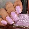 Kiss Me from the Candy Heart Cremes Collection by BLUSH Lacquers AVAILABLE AT GIRLY BITS COSMETICS www.girlybitscosmetics.com | Photo credit: The Polished Mage