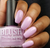 Kiss Me from the Candy Heart Cremes Collection by BLUSH Lacquers AVAILABLE AT GIRLY BITS COSMETICS www.girlybitscosmetics.com | Photo credit: @amazon_queen82