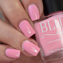 Be Mine from the Candy Heart Cremes Collection by BLUSH Lacquers AVAILABLE AT GIRLY BITS COSMETICS www.girlybitscosmetics.com   Photo credit: Manicure Manifesto