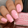 Be Mine from the Candy Heart Cremes Collection by BLUSH Lacquers AVAILABLE AT GIRLY BITS COSMETICS www.girlybitscosmetics.com | Photo credit: The Polished Mage