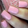 Be Mine from the Candy Heart Cremes Collection by BLUSH Lacquers AVAILABLE AT GIRLY BITS COSMETICS www.girlybitscosmetics.com | Photo credit: @pamperedpolishes
