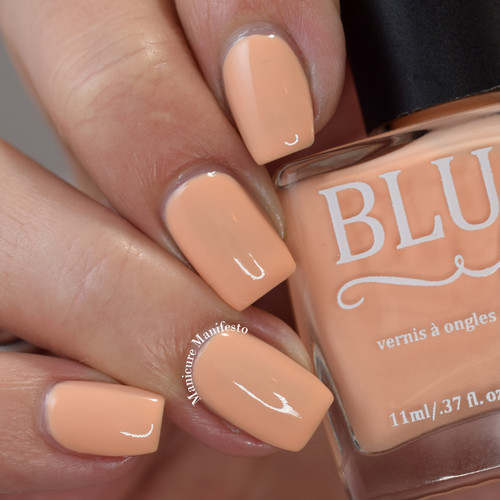 As If from the Candy Heart Cremes Collection by BLUSH Lacquers AVAILABLE AT GIRLY BITS COSMETICS www.girlybitscosmetics.com | Photo credit: Manicure Manifesto