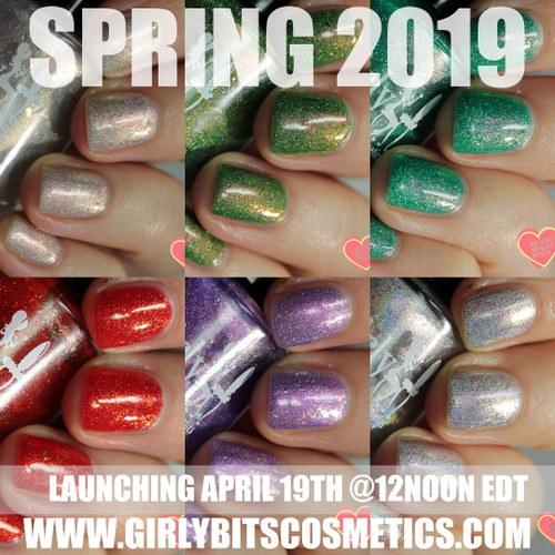 Spring 2019 collection | Girly Bits Cosmetics. Photo by Streets Ahead Style