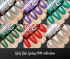 Spring 2019 collection | Girly Bits Cosmetics. Swatches by Lacquerloon