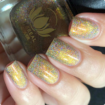 Eternal Sun from Polish Con NOLA by Ethereal Lacquer AVAILABLE AT GIRLY BITS COSMETICS www.girlybitscosmetics.com | Photo credit: IG @nailmedaily