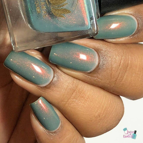 Agave from the Sacred Succulet Collection by Ethereal Lacquer AVAILABLE AT GIRLY BITS COSMETICS www.girlybitscosmetics.com | Photo credit: Queen of Nails 83