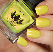 Sunburst from the Sacred Succulet Collection by Ethereal Lacquer AVAILABLE AT GIRLY BITS COSMETICS www.girlybitscosmetics.com | Photo credit: Cosmetic Sanctuary