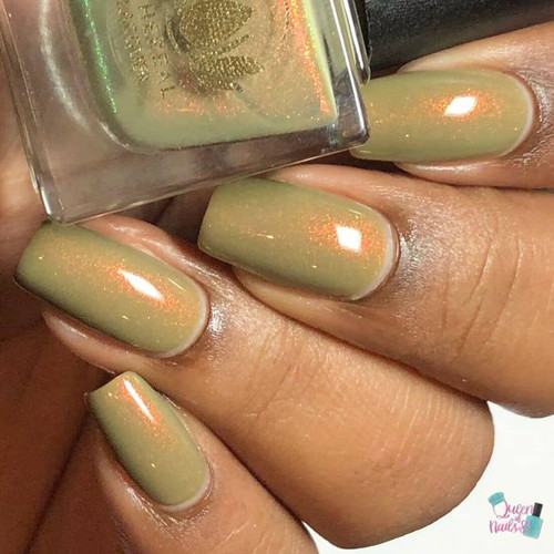 Herb from the Sacred Succulet Collection by Ethereal Lacquer AVAILABLE AT GIRLY BITS COSMETICS www.girlybitscosmetics.com   Photo credit: Queen of Nails 83