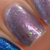Flake It Till You Make It over Smoke on the Water (May 2019 CoTM) by Girly Bits Cosmetics AVAILABLE AT GIRLY BITS COSMETICS www.girlybitscosmetics.com  | Photo credit: Manicure Manifesto