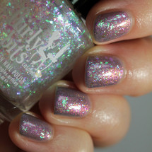 Flake It Till You Make It! (May 2019 CoTM) by Girly Bits Cosmetics AVAILABLE AT GIRLY BITS COSMETICS www.girlybitscosmetics.com | Shown over Smoke on the Water | Photo credit: Streets Ahead Style