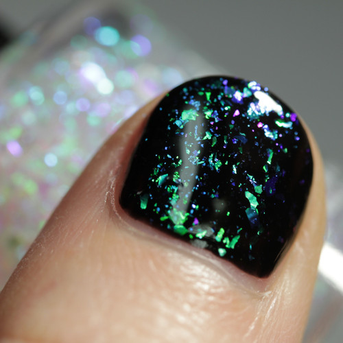 Flake It Till You Make It! (May 2019 CoTM) by Girly Bits Cosmetics AVAILABLE AT GIRLY BITS COSMETICS www.girlybitscosmetics.com   Shown over black   Photo credit: Streets Ahead Style