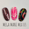 Mega Mani Mix 03 by Dixie Plates AVAILABLE AT GIRLY BITS COSMETICS www.girlybitscosmetics.com | Photo credit: @dixie_plates