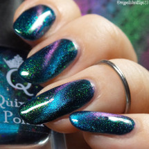 Libelulle from the 2nd Anniversary Duo by Quixotic AVAILABLE AT GIRLY BITS COSMETICS www.girlybitscosmetics.com | Photo credit: @mypolishedtips13