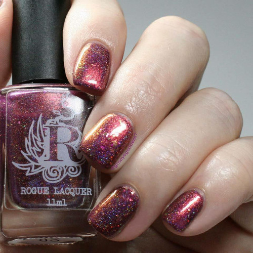 So Extra (Limited Edition)  by Rogue Lacquer AVAILABLE AT GIRLY BITS COSMETICS www.girlybitscosmetics.com   Photo credit: IG @grneyegoddess7