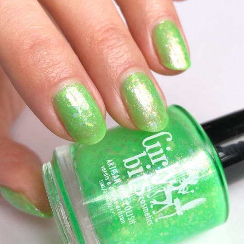 Hook, Lime, & Sinker (June 2019 CoTM) by Girly Bits Cosmetics AVAILABLE AT GIRLY BITS COSMETICS www.girlybitscosmetics.com  | Photo credit: @manigeek