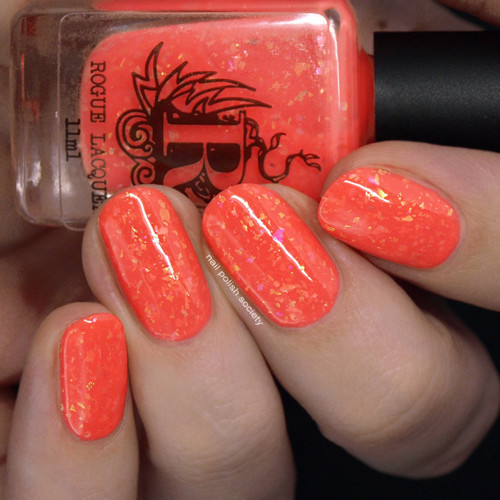 It's a Small World from the Come Ride With Me Collection by Rogue Lacquer AVAILABLE AT GIRLY BITS COSMETICS www.girlybitscosmetics.com | Photo credit: Nail  Polish Society