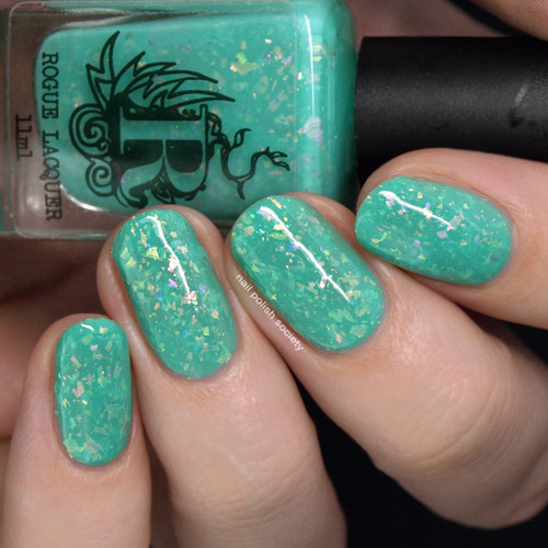 Peter Pan's Flight from the Come Ride With Me Collection by Rogue Lacquer AVAILABLE AT GIRLY BITS COSMETICS www.girlybitscosmetics.com | Photo credit: Nail  Polish Society