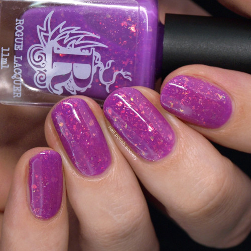 Space Mountain from the Come Ride With Me Collection by Rogue Lacquer AVAILABLE AT GIRLY BITS COSMETICS www.girlybitscosmetics.com | Photo credit: Nail  Polish Society