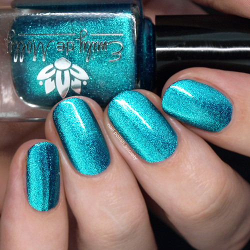 Speculation from the May 2019 Collection by Emily de Molly AVAILABLE AT GIRLY BITS COSMETICS www.girlybitscosmetics.com | Photo credit: Nail Polish Society