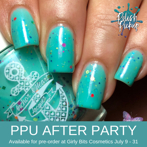 No One Alive Who Is More Youer Than You by Anchor & Heart Lacquer (PPU 2019 After Party Pre-Order) AVAILABLE FOR PRE-ORDER AT GIRLY BITS COSMETICS July 9th - 31st www.girlybitscosmetics.com